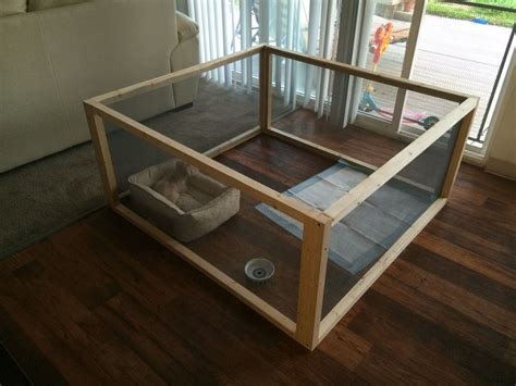 Diy Indoor Puppy Pen