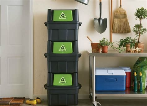 Diy Indoor Recycling Bins