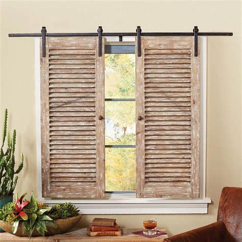 Diy Indoor Sliding Window Shutters