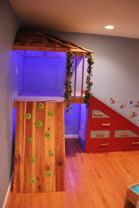 Diy Indoor Treehouse Playground