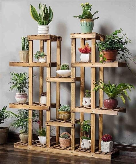 Diy Indoor Wood Planter Stand