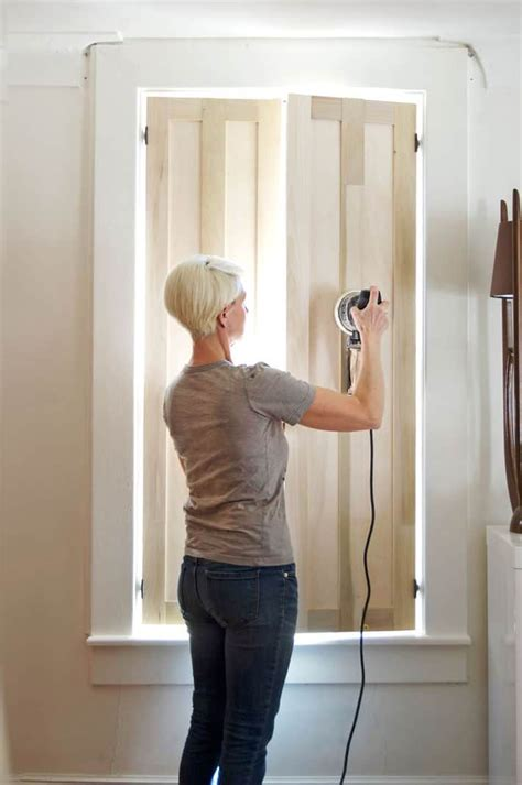 Diy Indoor Wood Shutters