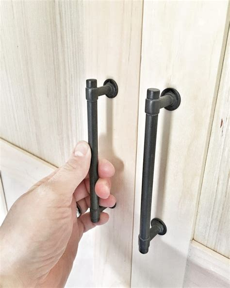 Diy Industrial Cabinet Hardware