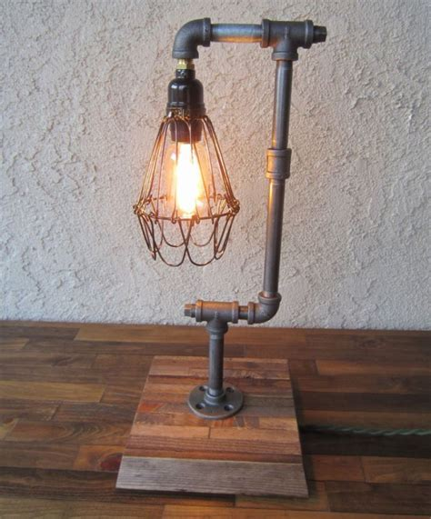 Diy Industrial Desk Lamp