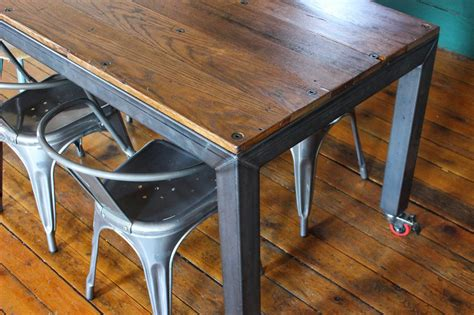 Diy Industrial Dining Table
