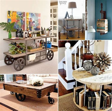Diy Industrial Furniture Plans