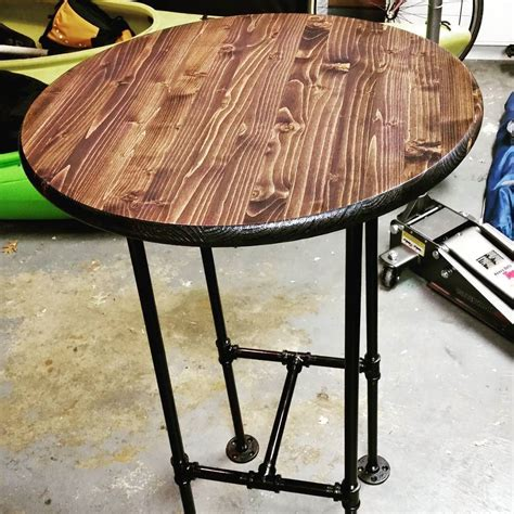 Diy Industrial High Top Table