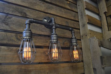 Diy Industrial Light Fixtures