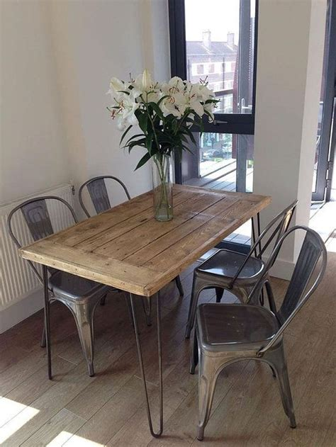 Diy Industrial Modern Dining Table