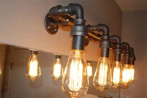 Diy Industrial Pipe Lighting Fixtures