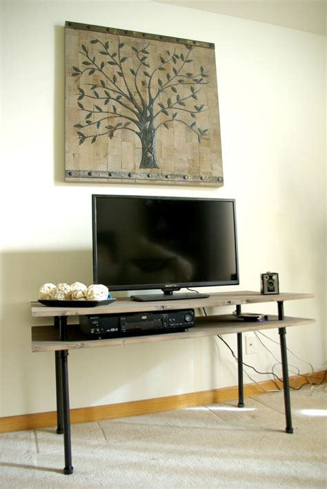 Diy Industrial Tv Stand Plans