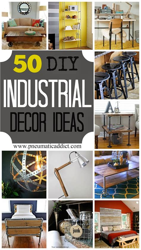 Diy Industrial Wall Ideas