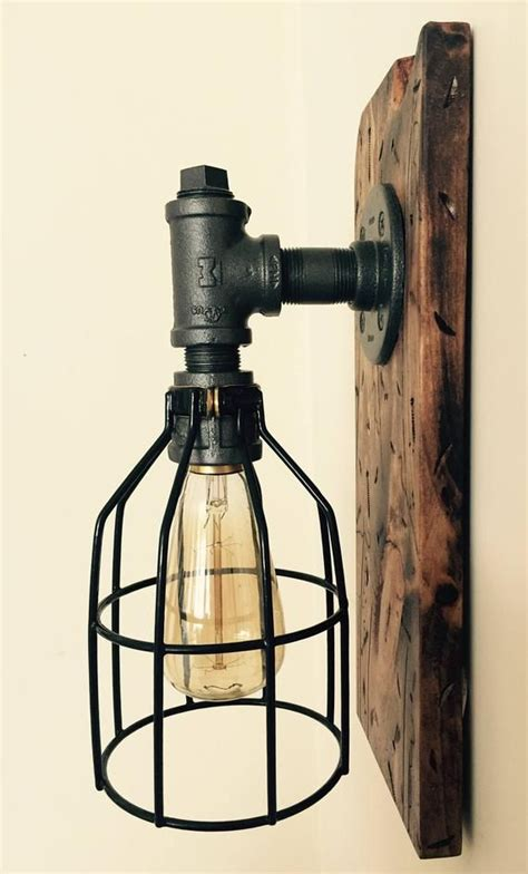 Diy Industrial Wall Lamp