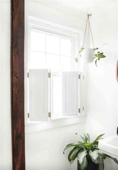 Diy Inside Window Shutters