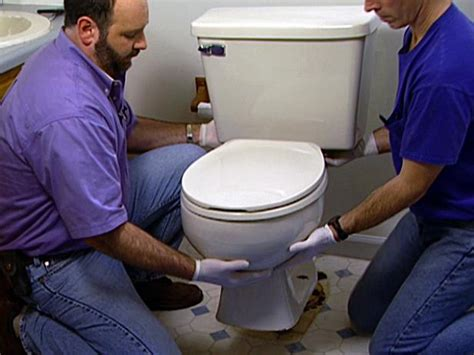 Diy Install Toilet Bowl