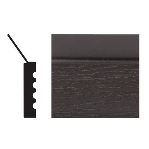 Diy Install Vinyl Garage Door Stop Moulding