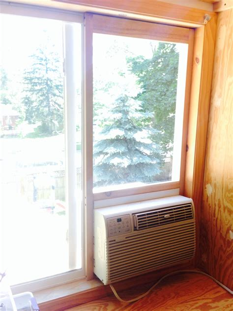 Diy Install Window Ac In Sliding Glass Door