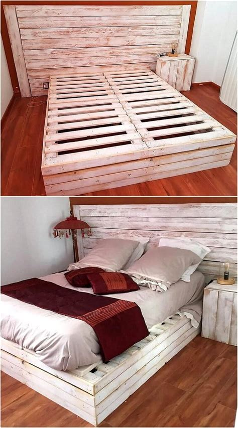 Diy Instructions Pallet Bed