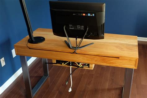 Diy Integrated Desk Power Strip