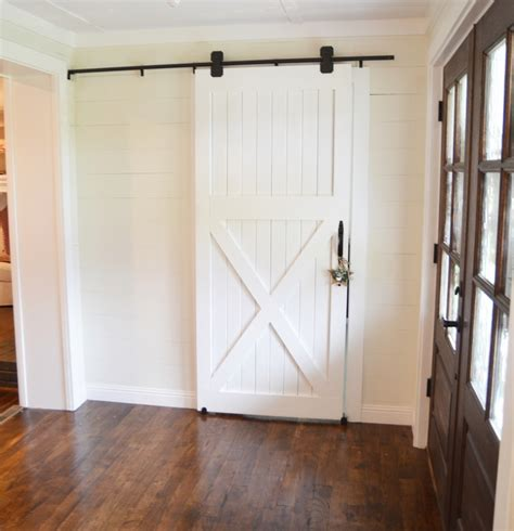 Diy Interior Barn Door With Router