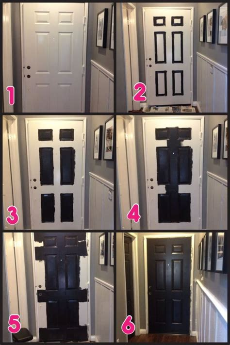 Diy Interior Doors Painting Ideas