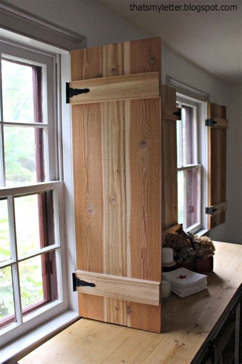 Diy Interior Window Shutter Plans