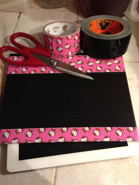 Diy Ipad Case With Tape