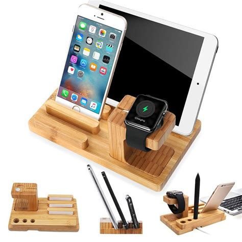 Diy Iphone Ipad Iwatch Charge Stand