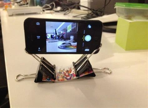 Diy Iphone Stand Clips