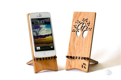 Diy Iphone Stand Wood
