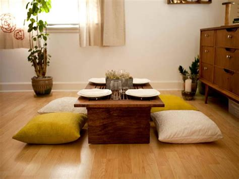 Diy Japanese Low Table Seating