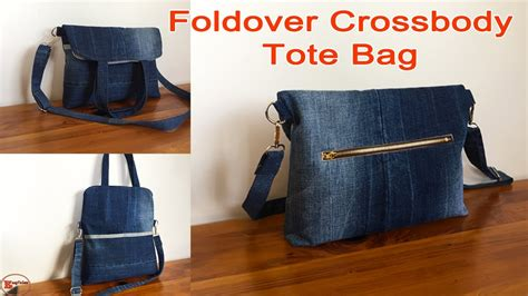 Diy Jeans Bag Tutorial Youtube