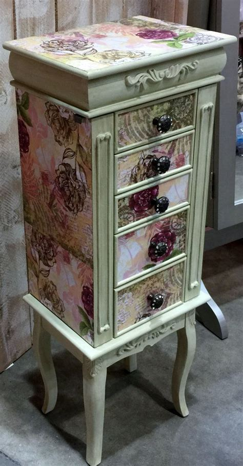 Diy Jewelry Armoire Makeover