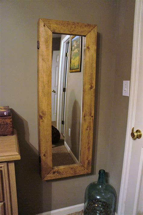 Diy Jewelry Armoire With Mirror