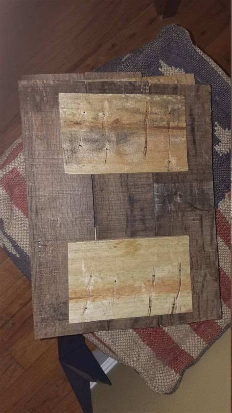 Diy Jewelry Board Reclaimed Wood
