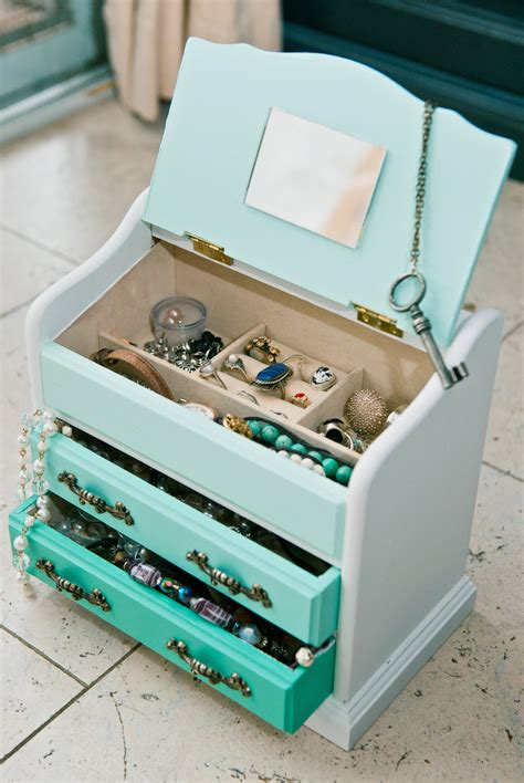 Diy Jewelry Box Projects