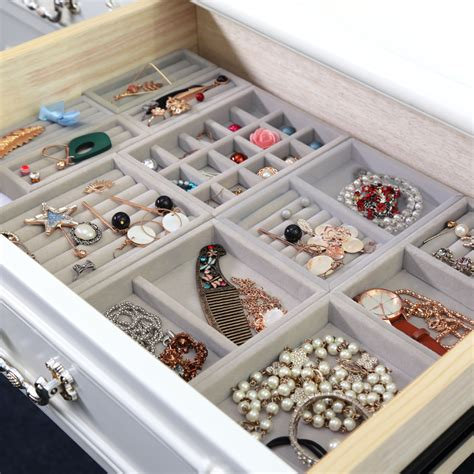 Diy Jewelry Drawer Storage