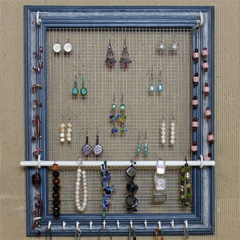 Diy Jewelry Holder Out Of Picture Frame