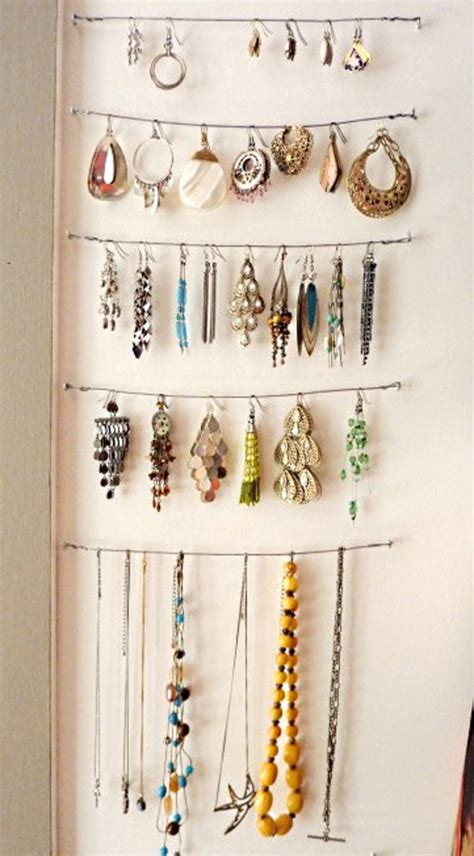 Diy Jewelry Holder With Household Items