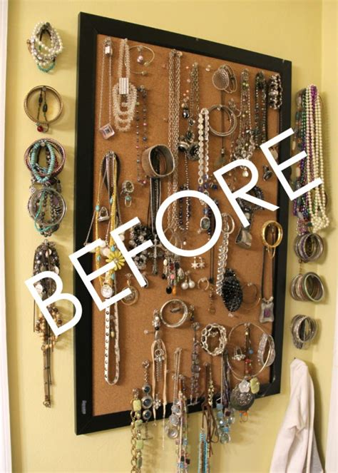 Diy Jewelry Storage Ideas Pinterest
