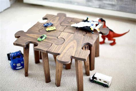 Diy Jigsaw Puzzle Table Template