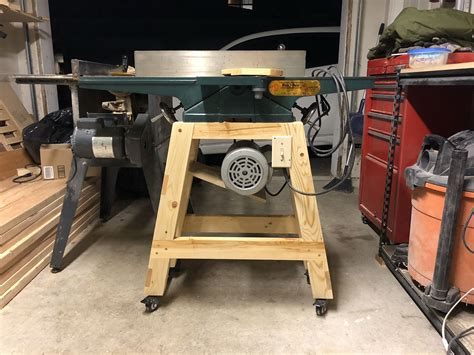 Diy Jointer Base
