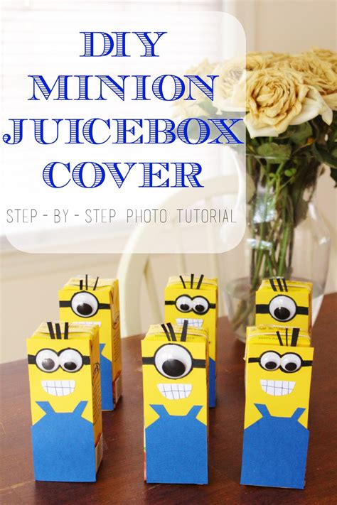 Diy Juice Box Covers