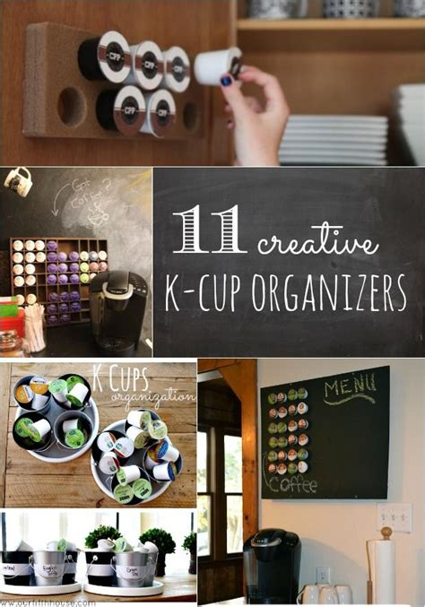 Diy K Cup Storage Ideas