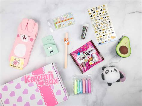 Diy Kawaii Subscription Box