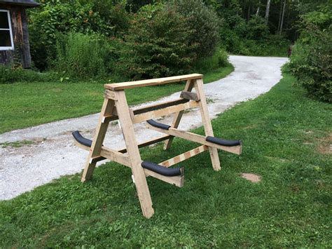 Diy Kayak Rack Out Of Pallets