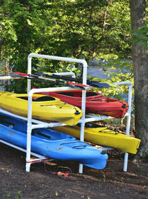Diy Kayak Rack Pipe