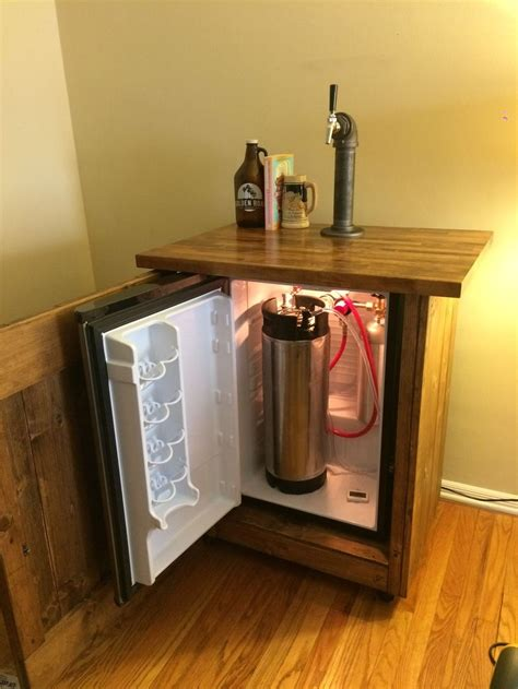 Diy Kegerator Mini Fridge