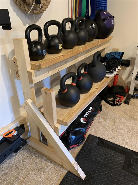 Diy Kettlebell Rack