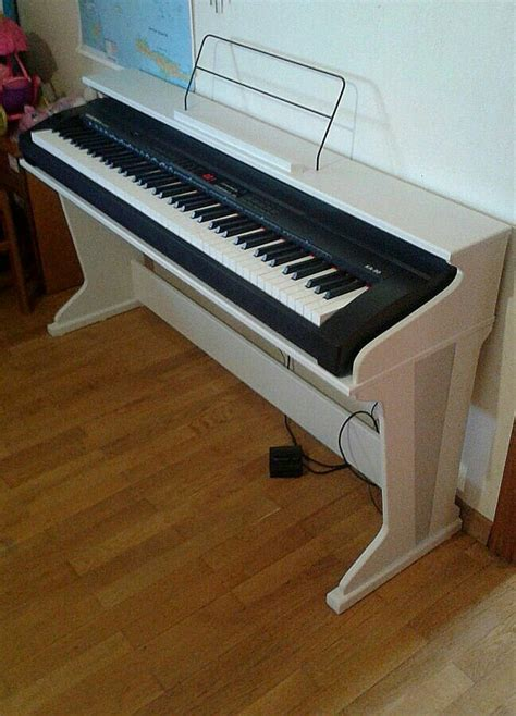 Diy Keyboard Stand Piano Wheels
